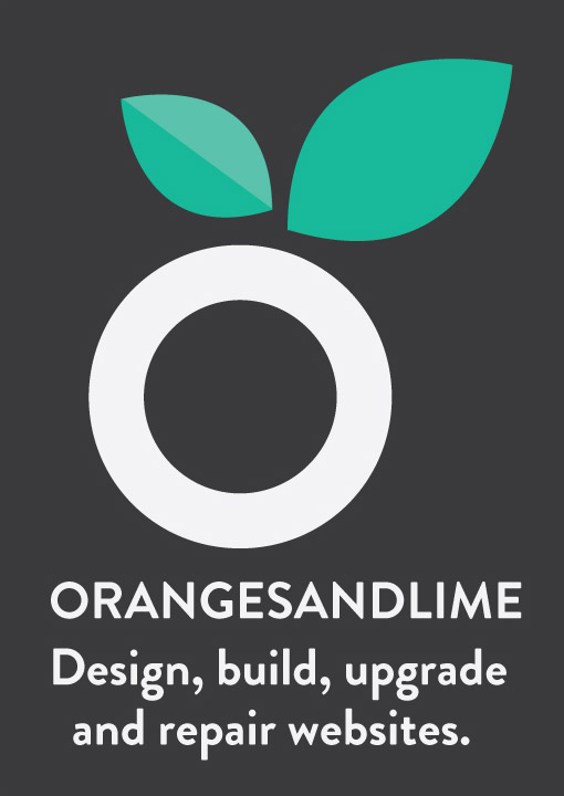 Oranges and Lime design, build, upgrade and repair websites.
